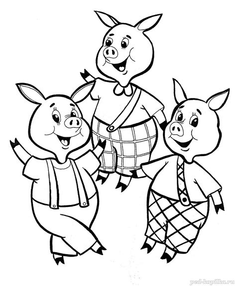 little pig coloring page three little pigs coloring pages for childrens printable