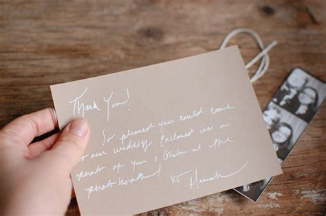 etiquette for sending thank you notes wedding gifts saying thank you after your wedding
