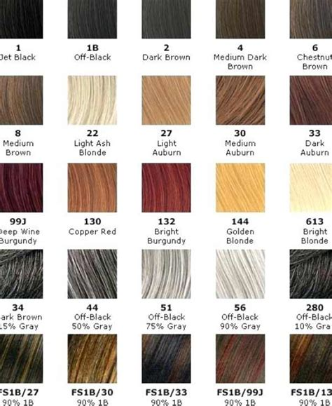 hair color for skin american best hair color for skin tone american chart