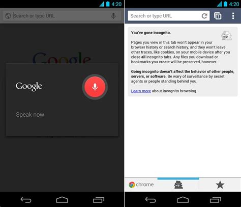 chrome browser for android chrome browser for android gets overhauled with minor enhancements top apps