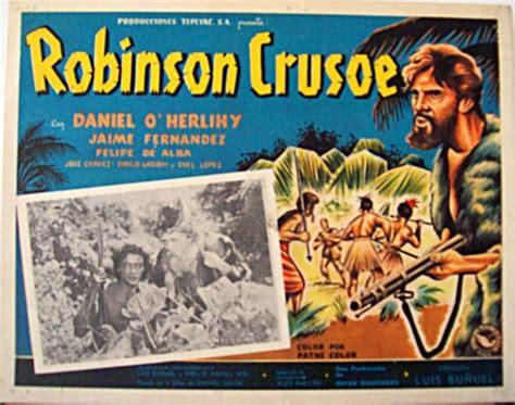 libro acento robinson el la adaptaci 243 n cinematogr 225 fica de robinson crusoe