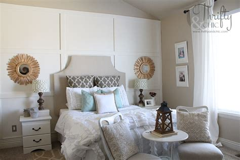 board and batten bedroom thrifty and chic diy projects and home decor