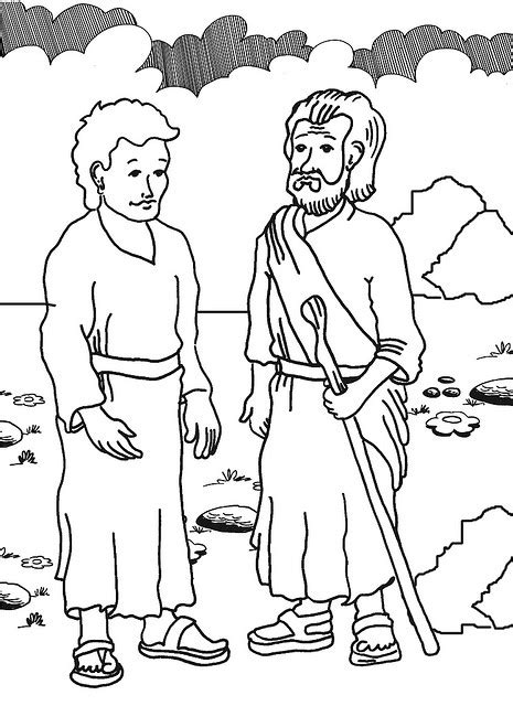 free bible coloring pages elijah elijah prophet elijah elias