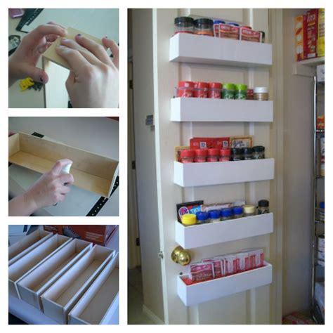 Pantry Diy by Diy Pantry Door Spice Racks That Create More Space