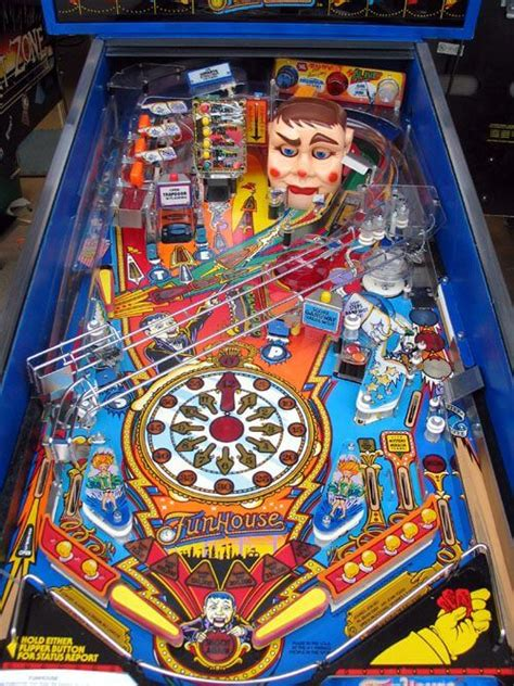 best pinball machines buy funhouse pinball machine by williams at 6999