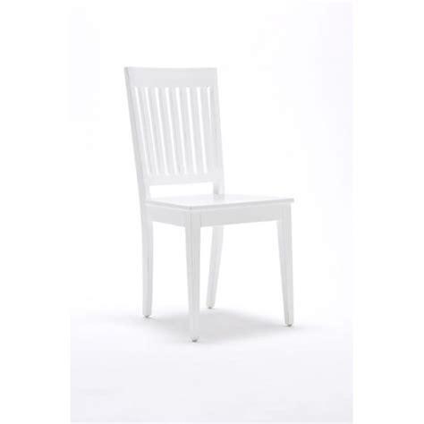 chaise bois et blanc chaises bois blanc