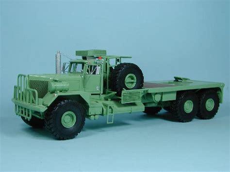 kenworth bed truck kenworth 953 field bed truck mim50008 1 50 resin