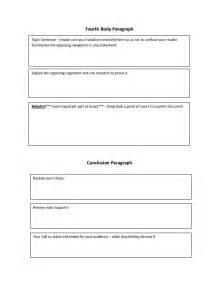 persuasive essay outline graphic organizer