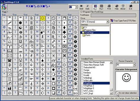 keyboard layout manager 2000 edition fonts software desktop fonts