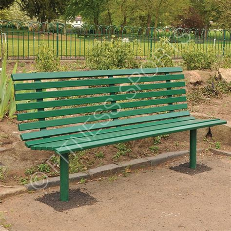 commercial outdoor bench seating tubular and box welded steel outdoor public seating bench