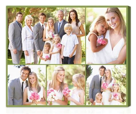 wedding collage template photo collage photo collage canvas collage