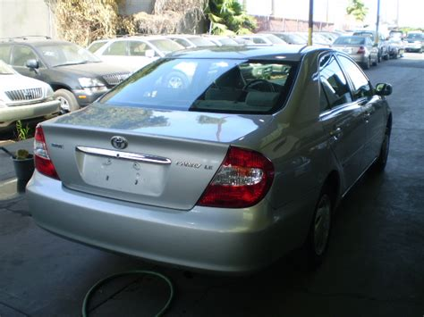 Toyota Camry Parts Canada Toyota Camry 2003 Used For Sale