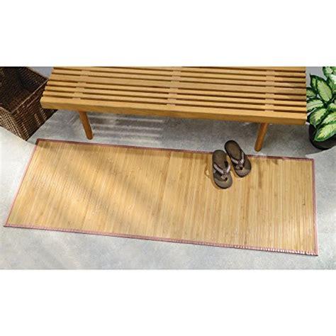 72 inch floor l bath rugs interdesign bamboo floor runner 24 by 72 inch