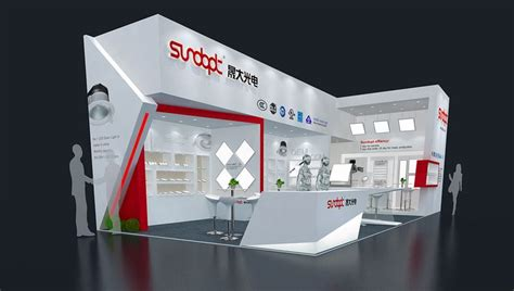 layout exhibition stand sundopt on behance a 展台 pinterest more behance and