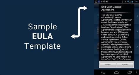eula template license agreement template provendor license agreement