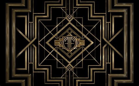 A Frame Home Designs by Minimalism Pattern Digital Art Black Gold The Great