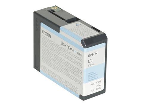 Alvacia Epson 80ml Light Cyan epson t5805 80ml light cyan ink cartridge ebuyer