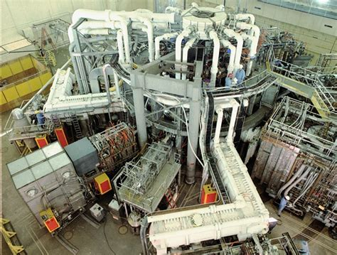 re ac tor tokamak fusion test reactor