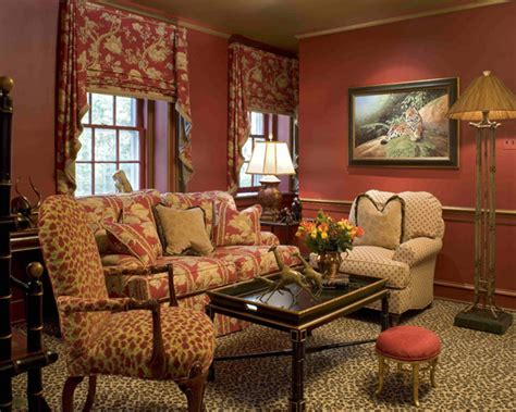 Living Room With Leopard Rug Celebrate New Year With Marsala Interior Designing Ideas