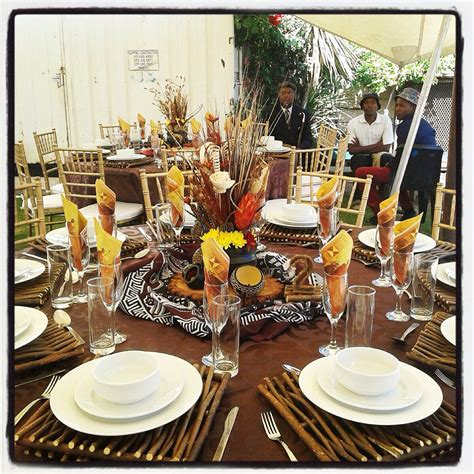 Traditional African Wedding Centerpieces And Decor Www Classic Wedding Centerpieces