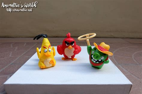 Happy Meal Angry Birds Lasso Pig mcdonalds angry birds happy meal toys animetric s world