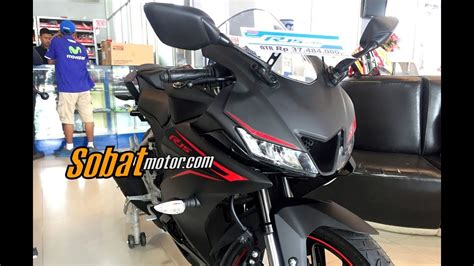 all new yamaha r15 155 vva 2017 matte black sobatmotor
