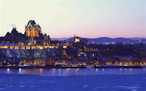 quebec city   city  canada travel