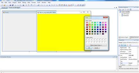 vb colors color picker visual basic 2008 vb net artikel visual basic
