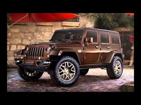 rose gold jeep 2014 jeep wrangler sundancer concept youtube