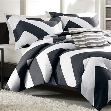 black and white twin comforter set mizone libra twin xl comforter set black free shipping
