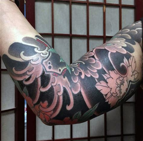 black and grey japanese tattoo designs 120 japanese sleeve tattoos for men masculine design ideas