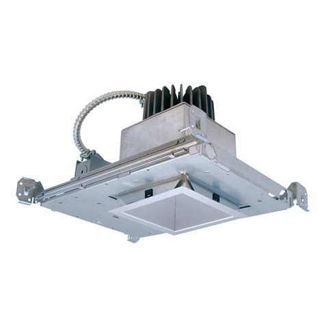 Contech Lighting by Contech S 4 Quot Square Led Recessed Downlight Commercial