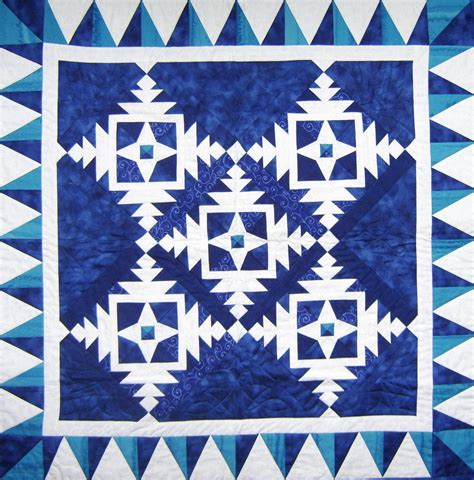 Snowflake Quilting Design by Quilt Inspiration Free Pattern Day Snowflake And Snowman