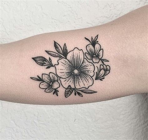 easy flower tattoos 48 best images about on