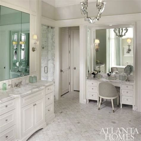 best way to clean up hair in bathroom should i place a make up vanity in my walk in closet or