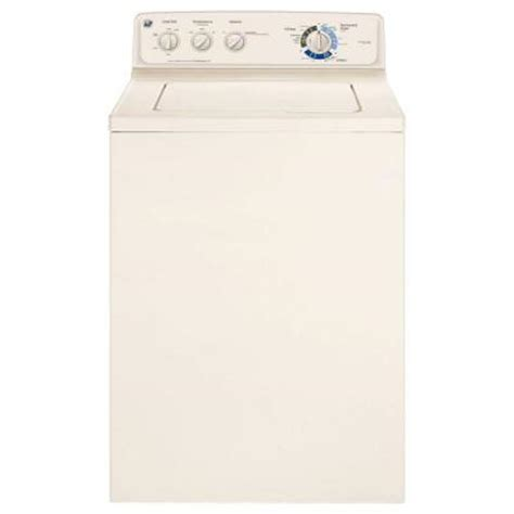 ge 3 7 doe cu ft top load washer in bisque gcwp1805dcc
