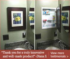 mirrorless medicine cabinets recessed 1000 images about tiny condo bathroom on pinterest