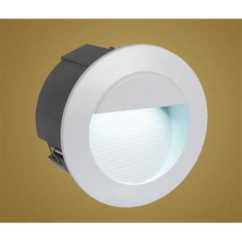 Eglo Eglo 89543 Zimba Led 1 Light Outdoor Recessed Led Recessed Garden Wall Lights