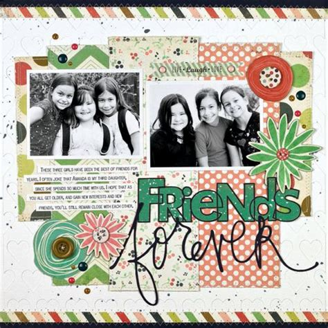 scrapbook layout for friends 174 best images about scrapbook layouts friends