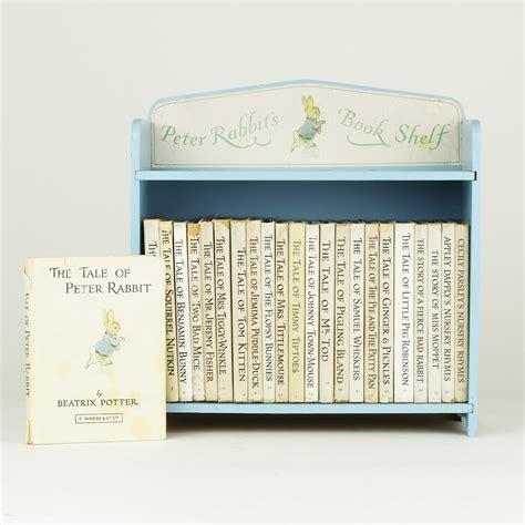 rabbit s book shelf by potter beatrix jonkers