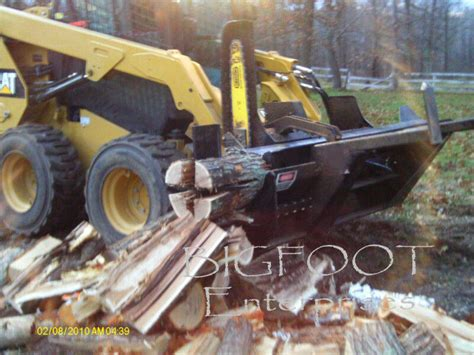 skid steer firewood wood processor heavy equipment parts