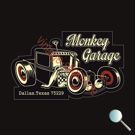 Gas Monkey Aufkleber by Vintage Sticker Aufkleber Oldschool Aufkleber