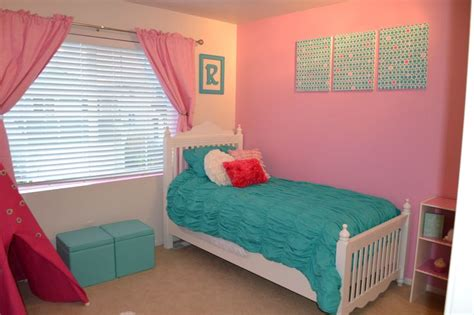turquoise and pink girl bedroom pink and turquoise girls room girls room decor pinterest