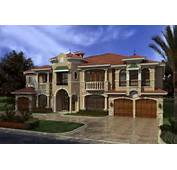 Florida Style House Plans  7883 Square Foot Home 2