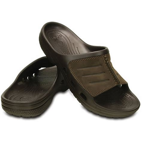 Crocs Yukon Slide crocs crocs yukon mesa slide espresso espresso ux 5 203294 22z mens clogs crocs from