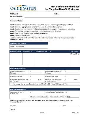 Fha Worksheet by Fha Streamline Calculation Worksheet Lesupercoin
