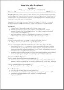 resume titles for entry level sles of resumes