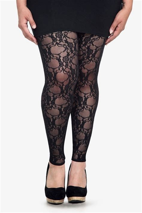 floral pattern lace tights crafted from gorgeous floral lace these footless tights