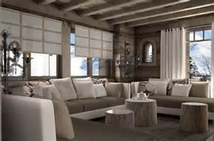 d 233 coration salon style chalet