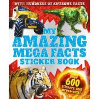 Amazing Dinosaurs Sticker Activity Book With 250 Stickers book my amazing mega facts sticker book new zealand gift ideas gifts for kiwis nz
